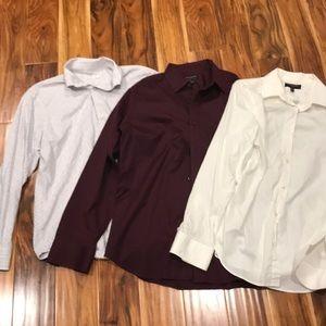 3 Men's Banana Republic Dress Shirt